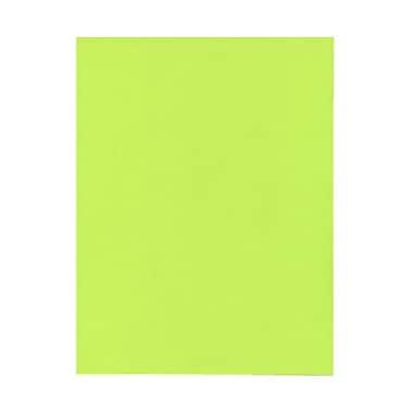 Jam PaperMD – Papier lisse recyclé couleur vive, 8 1/2 x 11 po, vert lime
