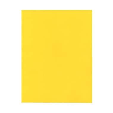 Jam PaperMD – Papier lisse recyclé couleur vive, 8 1/2 x 11 po, jaune