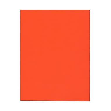 Jam PaperMD – Papier lisse recyclé couleur vive, 8 1/2 x 11 po, orange