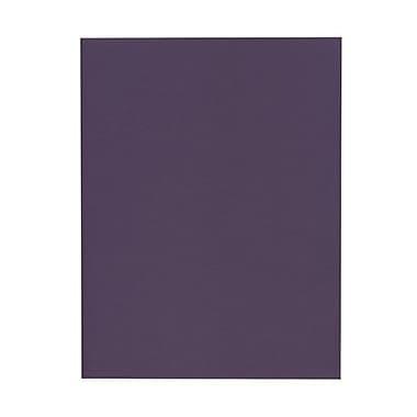 Jam PaperMD – Papier texturé, 8 1/2 x 11 po, violet foncé