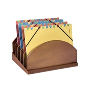 Empire Stack & Style™ Wood Desk Organizers Step Up Files