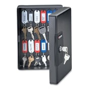 Sentry Safe Key Boxes with Key Tags and Labels, Black