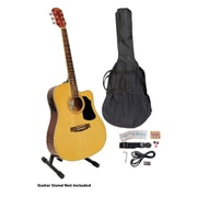 """Pyle® 41"""" Acoustic-Electric Guitar Packages With Gig Bag/Strap/Picks/Tuner and Strings"""