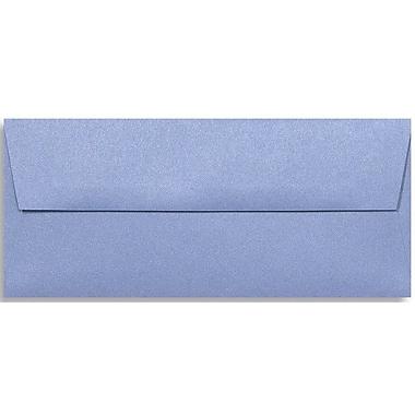 LUX Peel & Press #10 Square Flap Envelopes (4 1/8 x 9 1/2), Vista Metallic