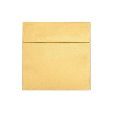 LUX ? Enveloppes carrées, 6 1/2 x 6 1/2 po, doré métallique