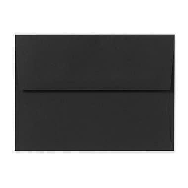 LUX A1 Invitation Envelopes (3 5/8 x 5 1/8), Midnight Black