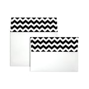 "LUX® 5 1/4"" x 7 1/4"" 70lbs. Square ColorFlap Envelopes W/Peel & Press"