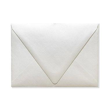 LUX A7 Contour Flap Envelopes (5 1/4 x 7 1/4), Quartz Metallic