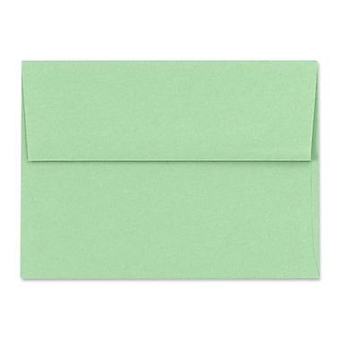 LUX ? Enveloppes d?invitation A7, 5 1/4 x 7 1/4, vert pastel