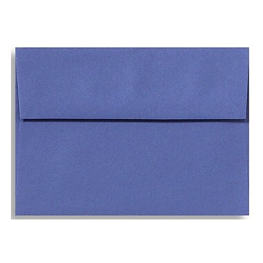LUX ? Enveloppes d?invitation A9 (5 3/4 x 8 3/4 po), bleu promenade