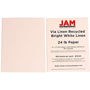 Jam Paper® Strathmore Linen Paper, 8-1/2