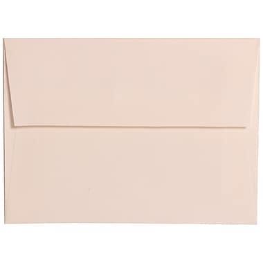 JAM PaperMD – Enveloppes en lin à rabat large, format livret à fermeture gommée, 4 3/4 x 6 1/2 po, blanc éclatant