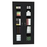"Sandusky® See Thru 36"" x 24"" x 72"" Clearview Storage Cabinets"
