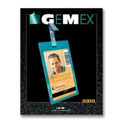 "Gemex Security I.D Card Vertical Badge Holders, 2-1/4"" x 3-1/2"", 50 per Pack"