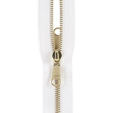 Reversible Separating Metal Zipper