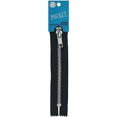 Fashion Pocket/Aluminum Teeth Zipper