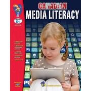Livres  Canadian Media Literacy , maternelle à la 6e année