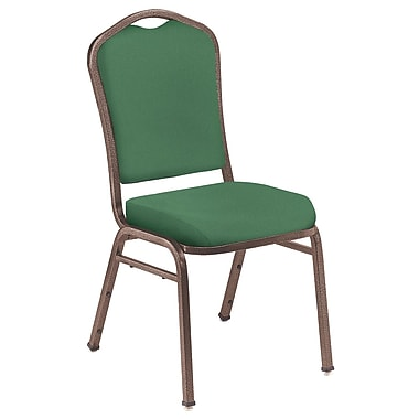 NPS® 4/Pack Silhouette Solid Fabric Stack Chairs