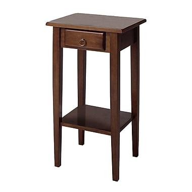 Winsome – Tables de la collection Regalia, noyer antique