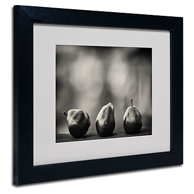 Trademark Fine Art 'Three Red Pears'