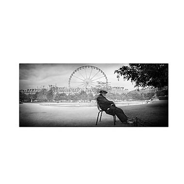 Trademark Fine Art 'Dreaming In Paris'