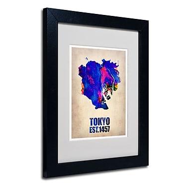 Trademark Fine Art 'Tokyo Watercolor Map'