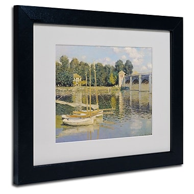 Trademark Fine Art 'The Bridge at Argenteuil'