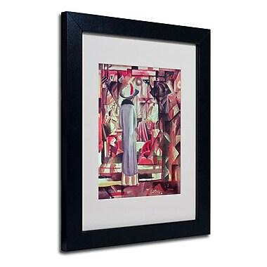 Trademark Fine Art 'Woman In Front of a Window'