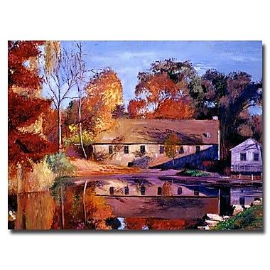 Trademark Fine Art 'Reflections of a Millhouse'