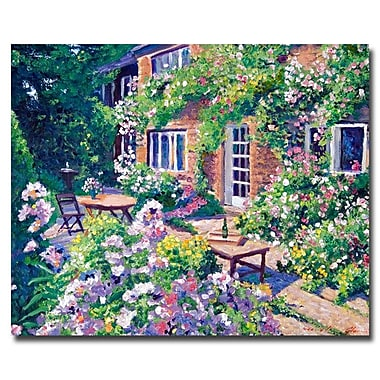 Trademark Fine Art 'English Courtyard'