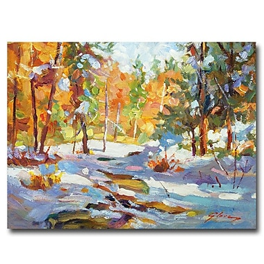 Trademark Fine Art 'Snowy Autumn'
