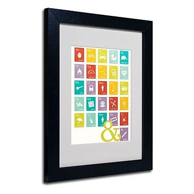 Trademark Fine Art 'Alpha Bits Rainbow'