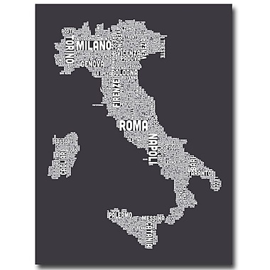 Trademark Fine Art 'Italy in Charcoal'