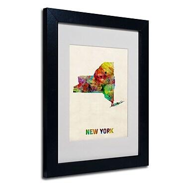Trademark Fine Art 'New York Map'