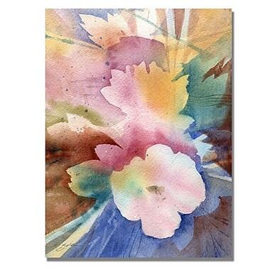 Trademark Fine Art 'White Floral Symphony'