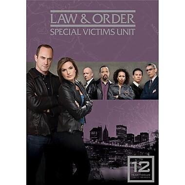 Law & Order: Special Victims Unit: Season 12 (DVD)