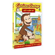 Curious George Gets a New Toy (DVD)