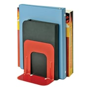 """MMF Industries™ STEELMASTER® Soho Collection 5"""" Economy Bookends"""