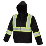 Forcefield - Veste de sécurité imperméable Softshell, noir