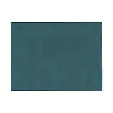 JAM PaperMD – Enveloppes livret à base foncée, 9 x 12 po, sarcelle