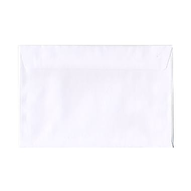 JAM Paper® Booklet Straight Flap Envelopes with Gummed Closure, 6