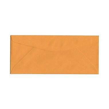 JAM PaperMD – Enveloppes à rabat commercial format livret avec fermeture gommée, 4 1/2 x 10 3/8 po, brun kraft