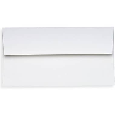 LUX Photo Greeting Invitation Envelopes (4 3/8 x 8 1/4), 70lb., Bright White