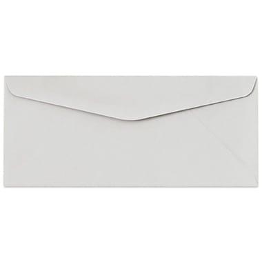 LUX ? Enveloppes no 10 avec colle à humecter (4 1/8 x 9 1/2 po), gris pastel
