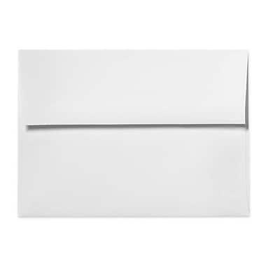 LUX ? Enveloppes d?invitations A4 (4 1/4 x 6 1/4 po), 60 lb, blanc avec bande détachable