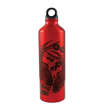 Gaiam® Aluminum Water Bottle with Cap Style 1, 750mL