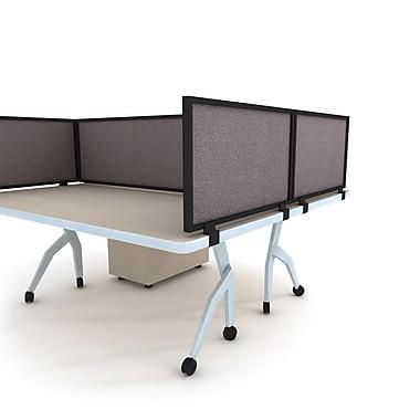 OBEX Acoustical Desk Mount Privacy Panel, 12''H x 42''W