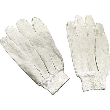 Zenith Safety Cotton Canvas Gloves, 60/Pack