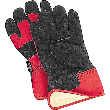 Zenith Safety Split Leather Fitters Thinsulate™ Lined Gloves, 12/Pack