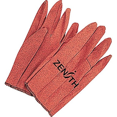 Zenith Safety Vinyl Impreg Gloves, 48/Pack